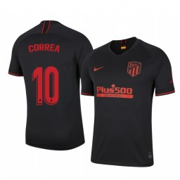 2019/20 Atletico de Madrid ángel Correa Away Short Sleeve Authentic Jersey