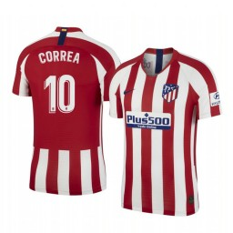 2019/20 ángel Correa Atletico de Madrid Home Authentic Jersey