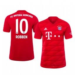 2019/20 Midfielder Bayern Munich Arjen Robben Home Authentic Jersey