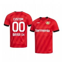 Youth 2019/20 Bundesliga Bayer Leverkusen Custom Home Authentic Jersey