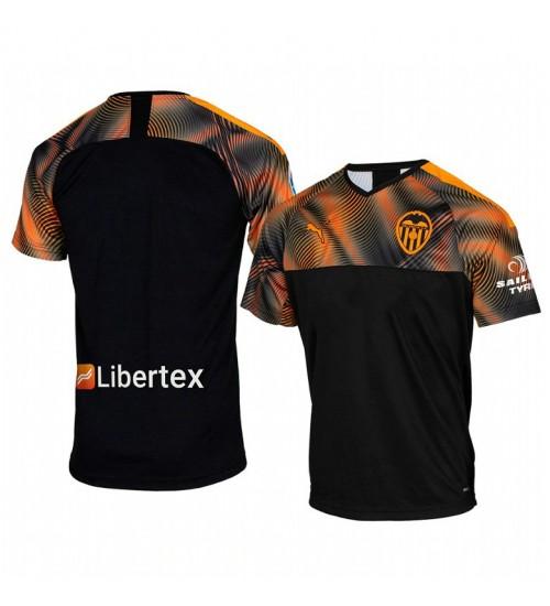 2019/20 Valencia Away Short Sleeve Authentic Jersey