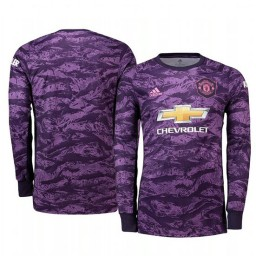 2019/20 Manchester United Purple Home Goalkeeper Authentic Jersey
