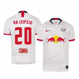 2019/20 Forward RB Leipzig Matheus Cunha Home Authentic Jersey