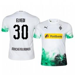 2019/20 Defender Borussia Monchengladbach Nico Elvedi Home Replica Jersey