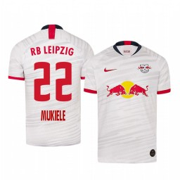 2019/20 Defender RB Leipzig Nordi Mukiele Home Authentic Jersey