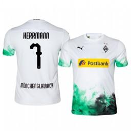 2019/20 Midfielder Borussia Monchengladbach Patrick Herrmann Home Authentic Jersey