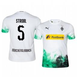 2019/20 Midfielder Borussia Monchengladbach Tobias Strobl Home Authentic Jersey