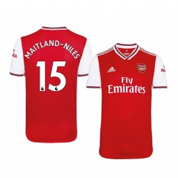 2019/20 Ainsley Maitland-Niles Arsenal Home Short Sleeve Authentic Jersey