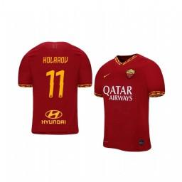 2019/20 Aleksandar Kolarov AS Roma Home Authentic Jersey