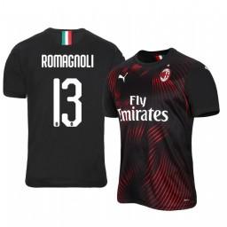 2019/20 AC Milan Alessio Romagnoli Authentic Jersey Alternate Third