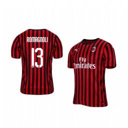 2019/20 Alessio Romagnoli AC Milan Home Authentic Jersey