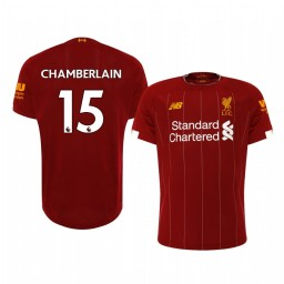 2019/20 Alex Oxlade-Chamberlain Liverpool Home Short Sleeve Authentic Jersey