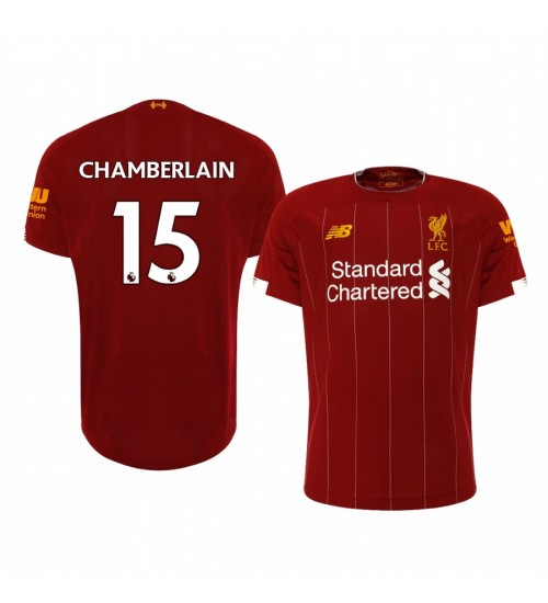2019/20 Alex Oxlade-Chamberlain Liverpool Home Short Sleeve Replica Jersey
