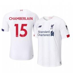 2019/20 Alex Oxlade-Chamberlain Liverpool Away Short Sleeve Authentic Jersey
