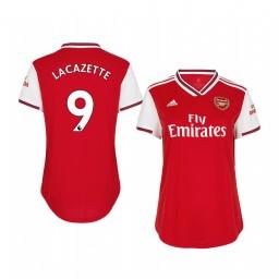 Women's 2019/20 Alexandre Lacazette Arsenal Home Authentic Jersey