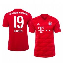2019/20 Bayern Munich Alphonso Davies Home Authentic Jersey