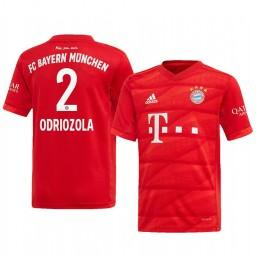 2019/20 Alvaro Odriozola Bayern Munich Red Home Authentic Jersey