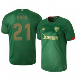 2019/20 Athletic Bilbao Ander Capa Away Short Sleeve Authentic Jersey