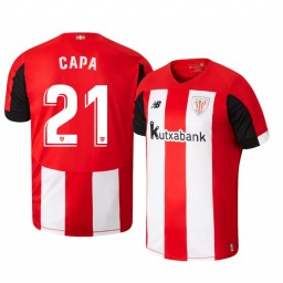 2019/20 Ander Capa Athletic Bilbao Home Authentic Jersey