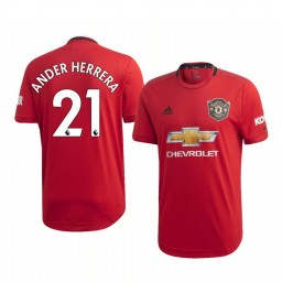 2019/20 Ander Herrera Manchester United Home Authentic Jersey
