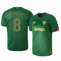 2019/20 Athletic Bilbao Ander Iturraspe Away Short Sleeve Authentic Jersey