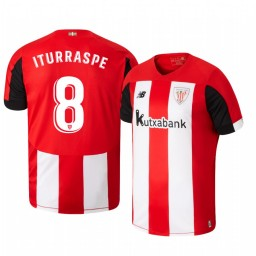 2019/20 Ander Iturraspe Athletic Bilbao Home Authentic Jersey