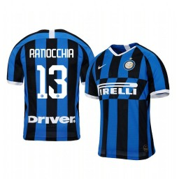 2019/20 Andrea Ranocchia Internazionale Milano Home Authentic Jersey