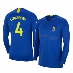 2019/20 Andreas Christensen Chelsea Blue Fourth Authentic Jersey