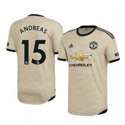 2019/20 Andreas Pereira Manchester United Away Short Sleeve Authentic Jersey