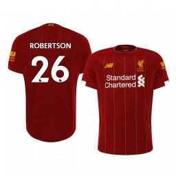 2019/20 Andrew Robertson Liverpool Home Short Sleeve Authentic Jersey
