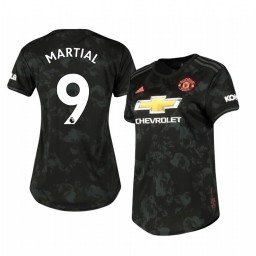 Women's 2019/20 Manchester United Anthony Martial Replica Jersey Alternate Third