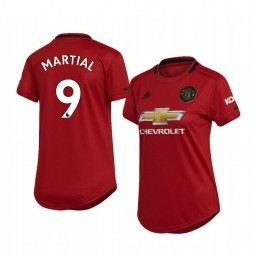 Women's 2019/20 Anthony Martial Manchester United Home Replica Jersey