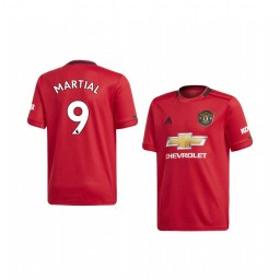 Youth 2019/20 Anthony Martial Manchester United Home Authentic Jersey