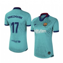 Women's 2019/20 Barcelona Antoine Griezmann Authentic Jersey Alternate Third