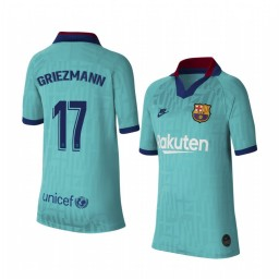 Youth 2019/20 Barcelona Antoine Griezmann Authentic Jersey Alternate Third