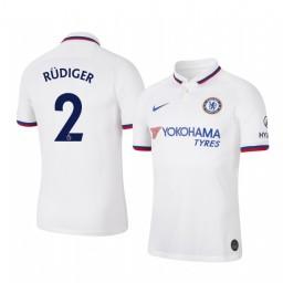 2019/20 Antonio Rudiger Chelsea Away Short Sleeve Authentic Jersey