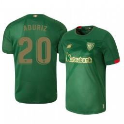 2019/20 Athletic Bilbao Aritz Aduriz Away Short Sleeve Authentic Jersey