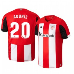 2019/20 Aritz Aduriz Athletic Bilbao Home Authentic Jersey