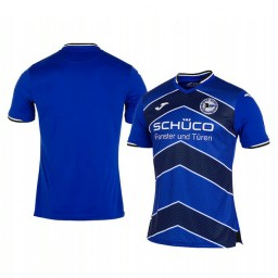 2019/20 Arminia Bielefeld Blue Home Short Sleeve Authentic Jersey