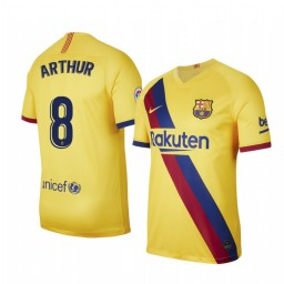 2019/20 Barcelona Arthur Away Short Sleeve Authentic Jersey