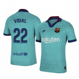 2019/20 Barcelona Arturo Vidal Authentic Jersey Alternate Third