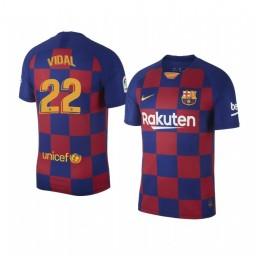 2019/20 Arturo Vidal Barcelona Home Authentic Jersey