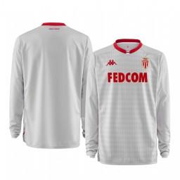 2019/20 AS Monaco White Goalkeeper Away Authentic Jersey