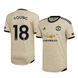 2019/20 Ashley Young Manchester United Away Short Sleeve Authentic Jersey