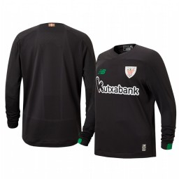 Youth 2019/20 Athletic Bilbao Black Goalkeeper Authentic Jersey