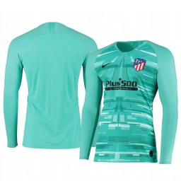 2019/20 Atletico de Madrid Green Long Sleeve Goalkeeper Authentic Jersey