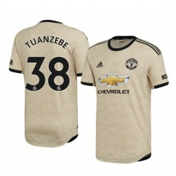 2019/20 Axel Tuanzebe Manchester United Away Short Sleeve Authentic Jersey