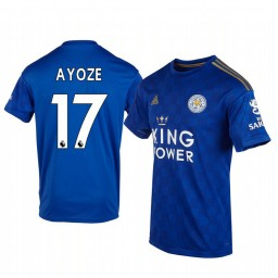 2019/20 Ayoze Pérez Leicester City Home Short Sleeve Authentic Jersey