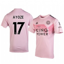 2019/20 Ayoze Pérez Leicester City Away Short Sleeve Authentic Jersey
