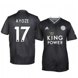 2019/20 Ayoze Pérez Leicester City Third Short Sleeve Authentic Jersey